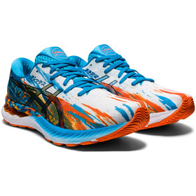 asics Gel-Nimbus 23 Shoes Men digital aqua/marigold orange